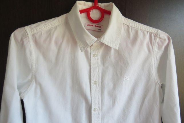 Biała koszula chłopięca 5.10.15. - r. 146 cm