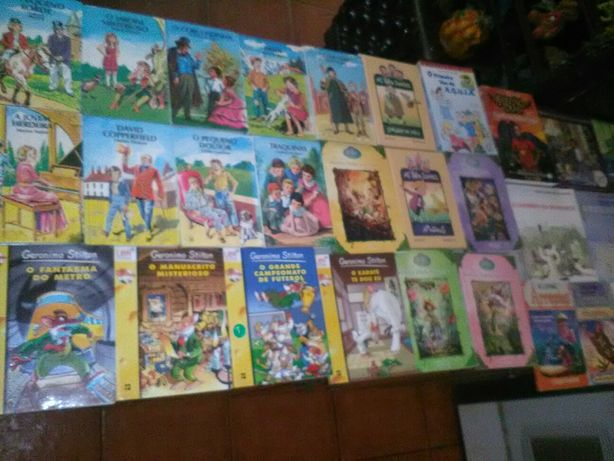 Conjunto de 61 Livros Infantil/Juvenil Diversos