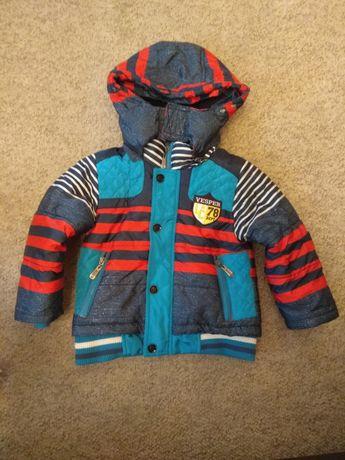 Куртка зимняя + жилетка на 1-2,5 года