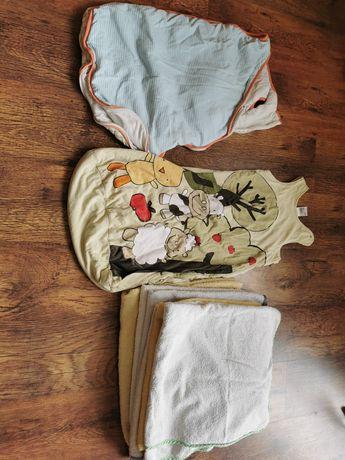 Ręczniki z kapturem śpiworek śpiwór dla dzieci do spania80 62
