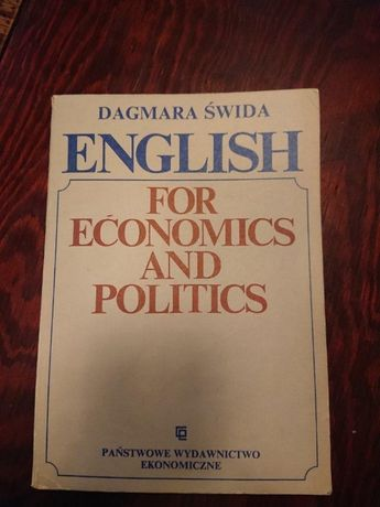 English for economics and politics