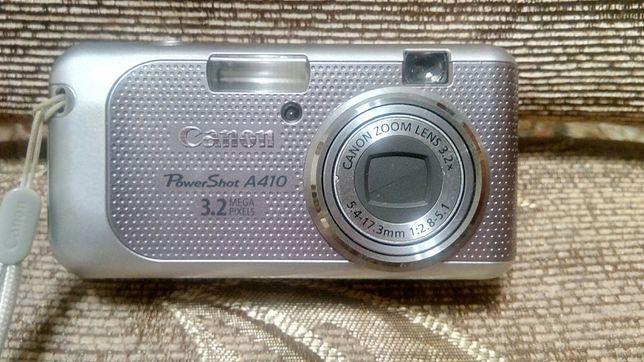 Фотоапарат Canon PowerShot A410
