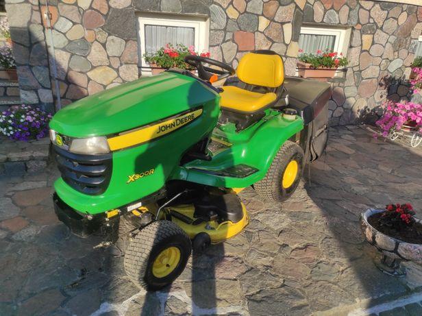 Kosiarka Traktorek John Deere X300R V2 Popa Oleju Hydro