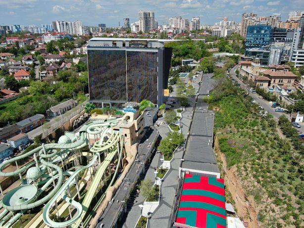 Лучшие апартаменты с лоджией с видом на МОРЕ в самом центре Аркадии