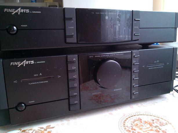Magnetofon FINEARTS by GRUNDIG CCF 3 odtwarzacz kaset magnetofonowych
