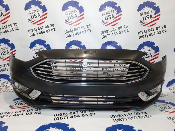 Ford Fusion 2017- Бампер Решетка Накладка Защита Жалюзи Телевизор ПТФ