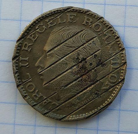 100 лей 1936г Румыния гашеная