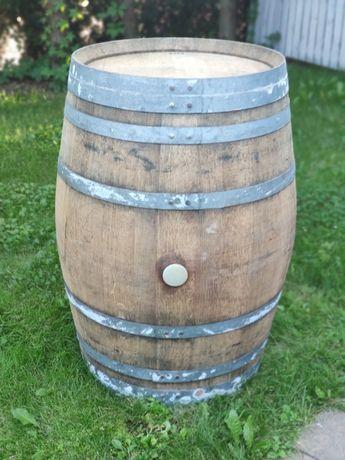 Beczka drewniana po po winie dębowa szczelna beczka solidna 225 litrów