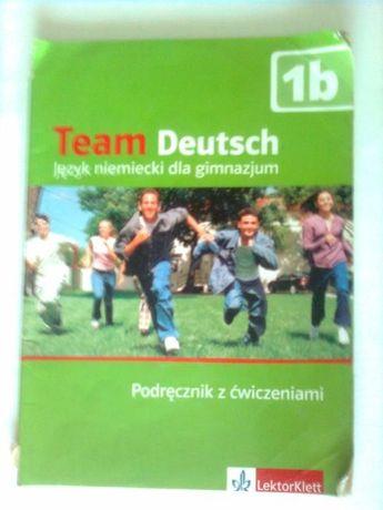 Team Deutsch podręcznik z ćwiczeniami 1 b- Ernst