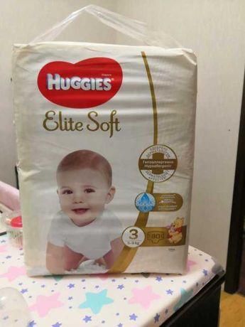 Подгузники Huggies Elite Soft 3, 80 шт.
