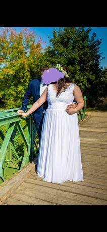 Suknia ślubna xxxl