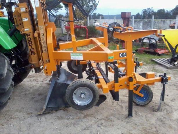 Máquina para armar camalhões para mirtilos, framboesas, morangos