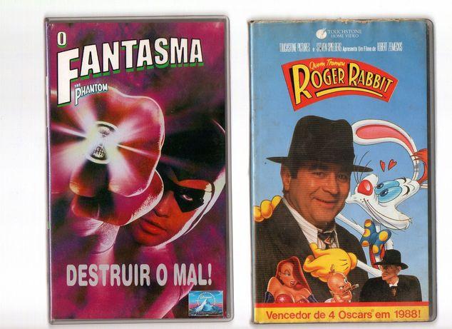 Colecção filmes vintage VHS Infantil ORIGINAIS