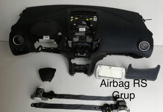 Ford Fiesta Mk7 tablier airbags cintos