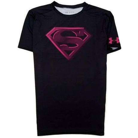 Термо футболка компрессионка Under Armour Superman