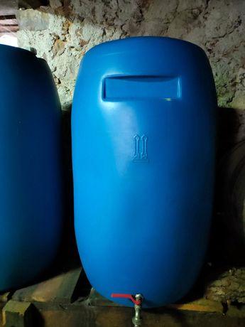 Barris de plástico 220 litros