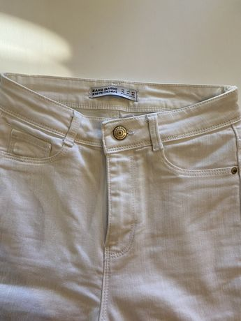 Calças skiny jeans zara