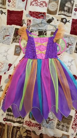 Платье бабочки феи 3-6 лет