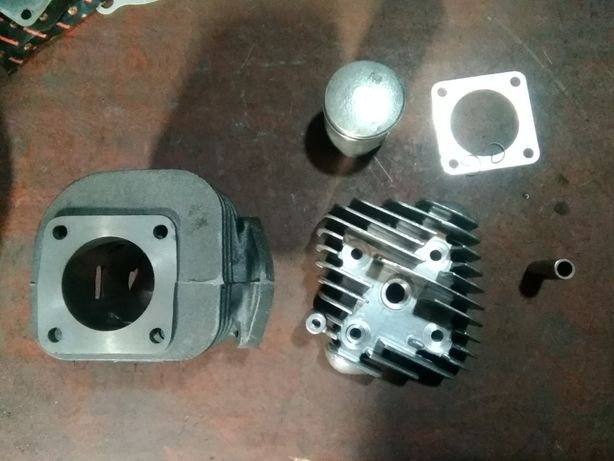 Honda Dio ZX 65 (44)мм Головка цилиндра, Цилиндр, Поршень с кольцами