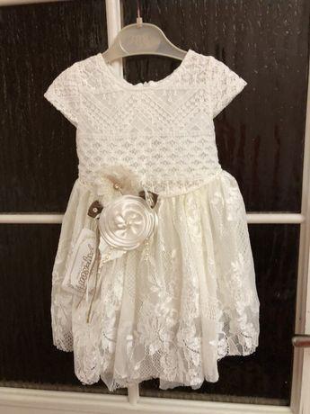 Плаття, сукня на рік на хрестини 9 12 місяців