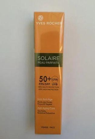 Солнцезащитный крем для лица Анти-Аж SPF50 Yves Rocher Ив роше
