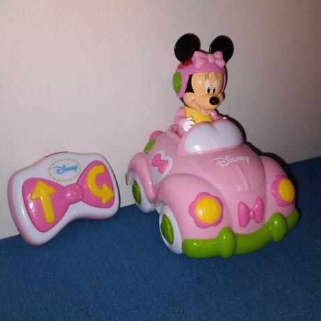 Autko zdalnie sterowane Myszka Minnie Clementoni+ baterie kpl.