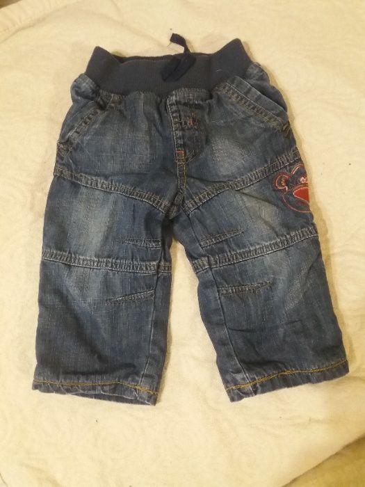 Spodnie jeansowe George rozmiar 81-86 1-1,5roku Gdańsk - image 1