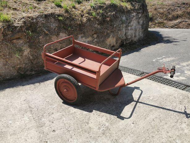 Carro de mão duas rodas com travão