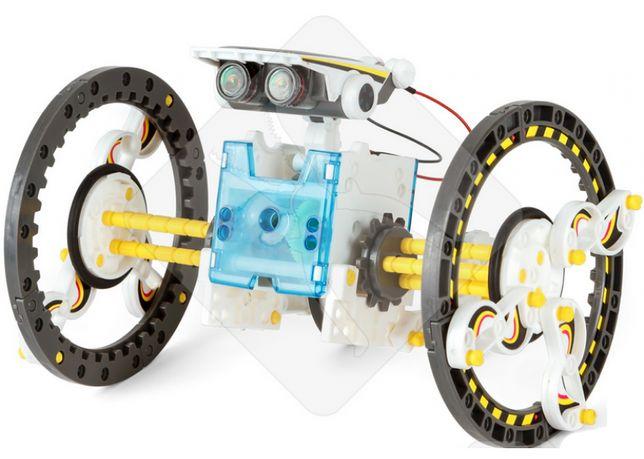 Робот 14 в 1 на солнечных батареях, STEM-конструктор