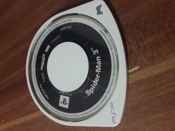 Gra na PSP Spider-man 3.