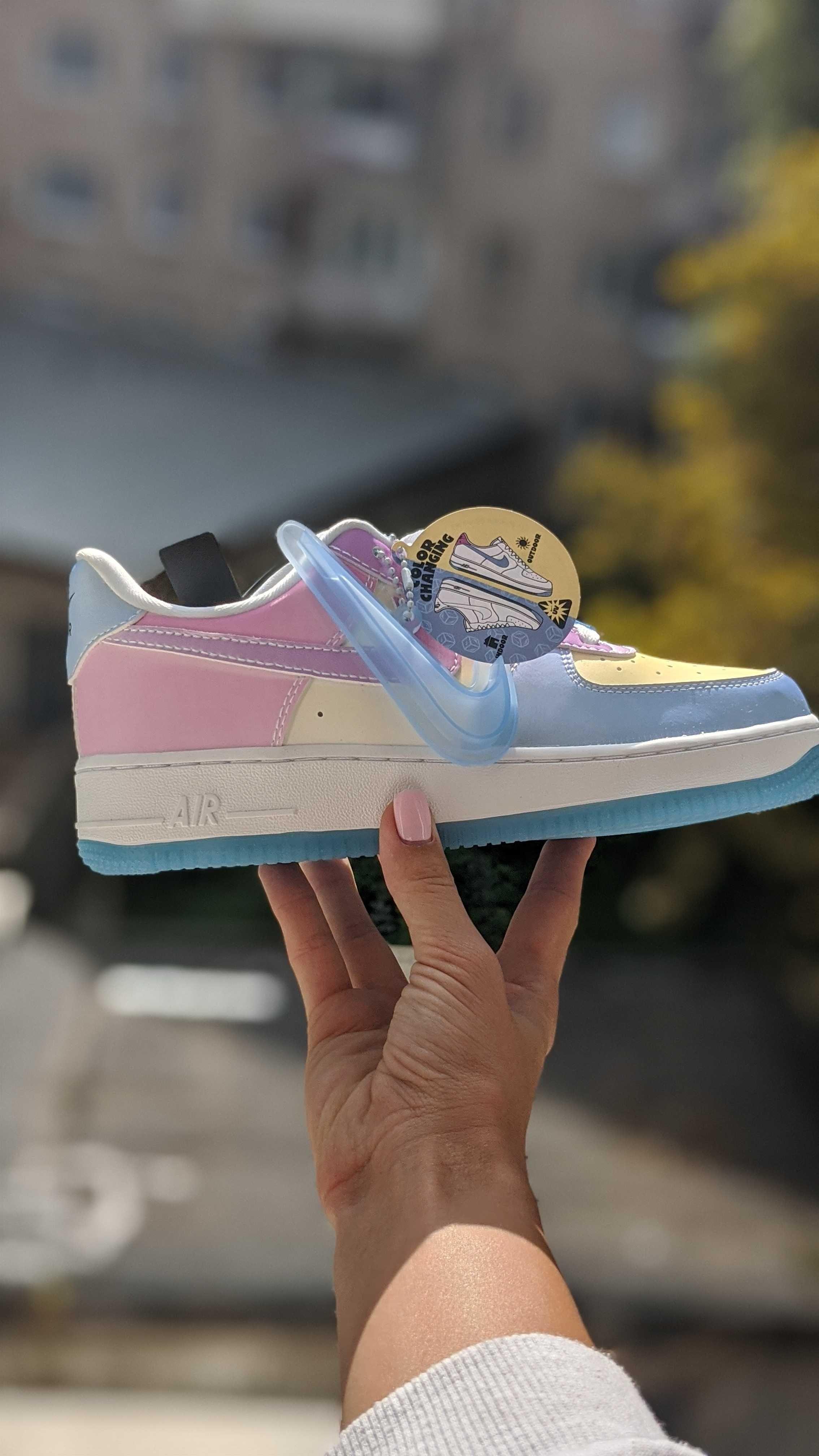 Кроссовки меняют цвет! Nike Air Force 1 low UV Лучшая ЦЕНА! ОРИГИНАЛ!