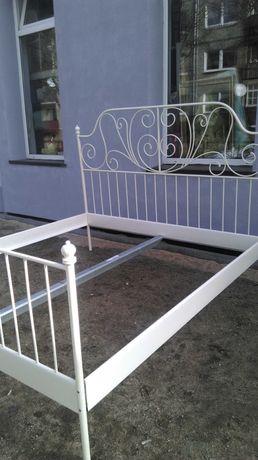 Łóżko metalowe białe280/200