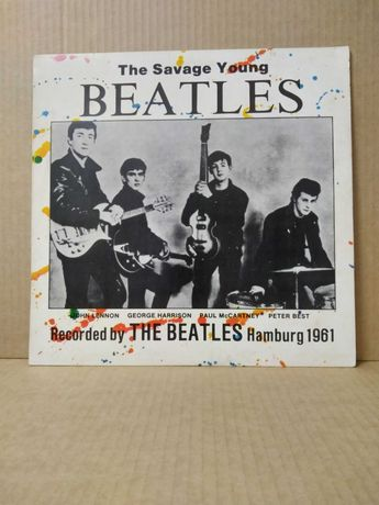 LP - THE BEATLES - The Savage Young Beatles (1961)