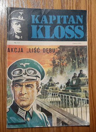 "Komiks Kapitan Kloss "" Akcja liść dębu"" nr 17 wyd. I z 1973 roku"