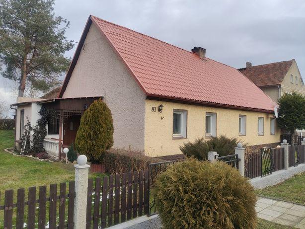 Dom wolnostojący z działką pod zabudowę