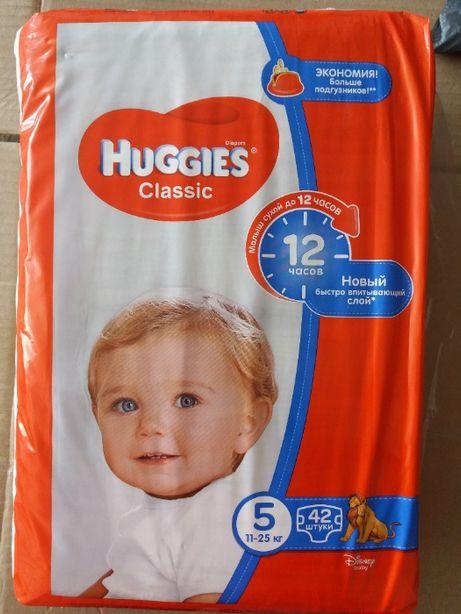 Памперси дитячі HUGGIES Classic 5