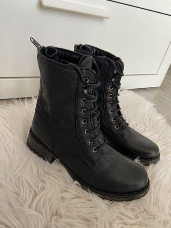 Шкіряні чобітки фірми freeflex