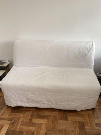 Sofá cama IKEA Lycksele bege