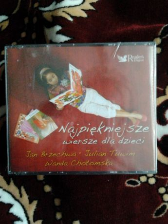 trzy cd nowe folia wiersze dla dzieci jan brzechwa julian tuwim,wanda.