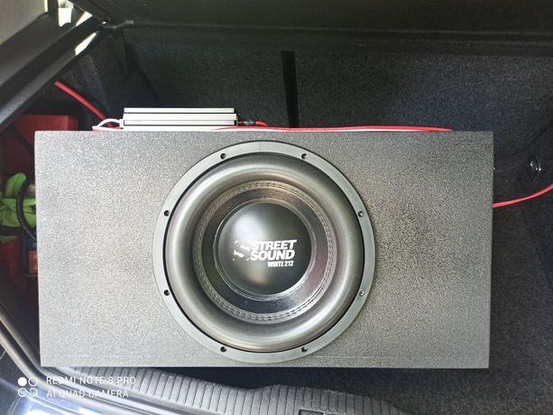 Саб в зборі Street Sound 212v2 + AudioBeat PA