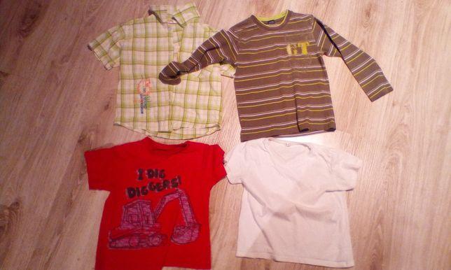 Koszulki dla chłopca 110/116/120
