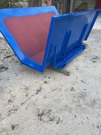 Kontener na zrzyny, kontener samowyładowczy 1 m3!