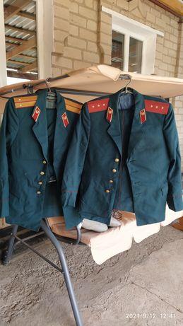 Форма СССР, лейтенанта и прапорщика
