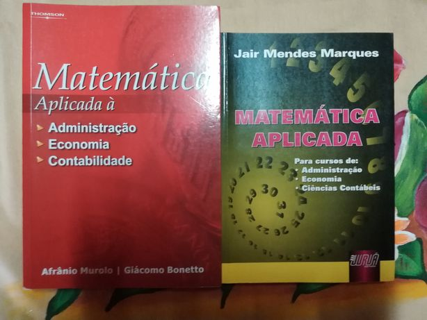 Vendo Livros de Matemática Aplicada