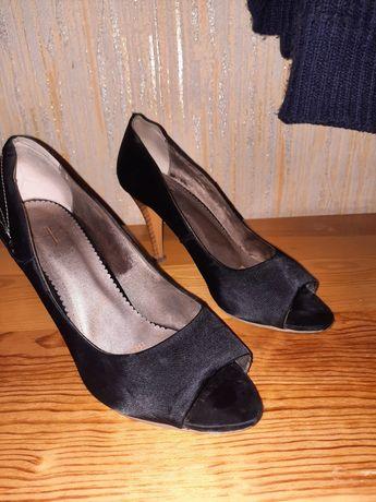 Туфли с открытыми носками, 39-40 размер