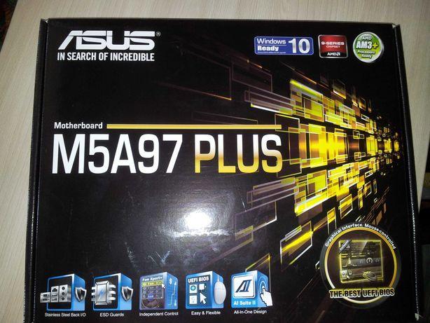 материнская плата Asus M5A97 plus сокет ам3+