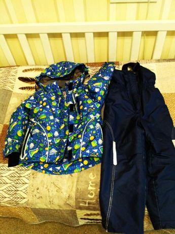 Куртка, Полукомбинезон, зимний, костюм, Be Easy, 110р.