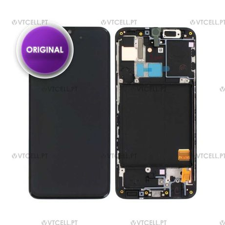 Ecra LCD + Touch com frame para Samsung Galaxy A31 (Original)