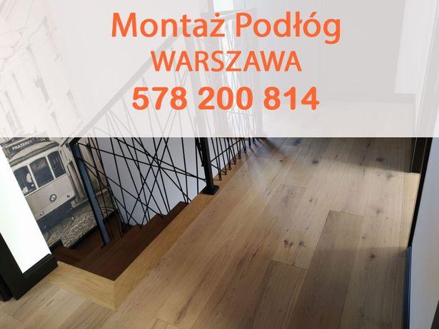 Montaż i układanie podłogi drewnianej / kładzenie i montaż parkietu