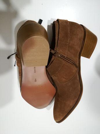 Buty typu kowbojki. Nowe, skóra naturalna.